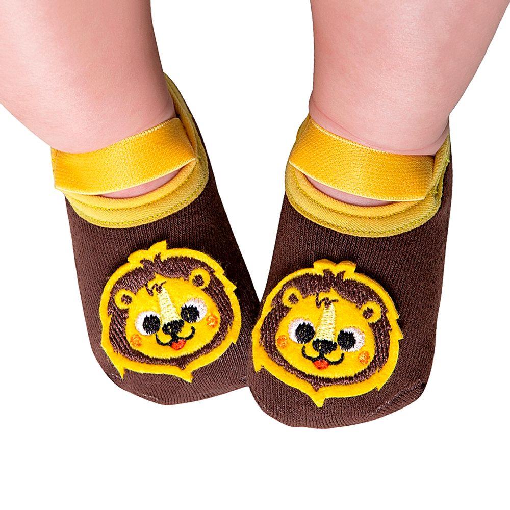 LK072.003-LE-A-moda-bebe-menino-meia-sapatilha-leao-leke-no-bebefacil