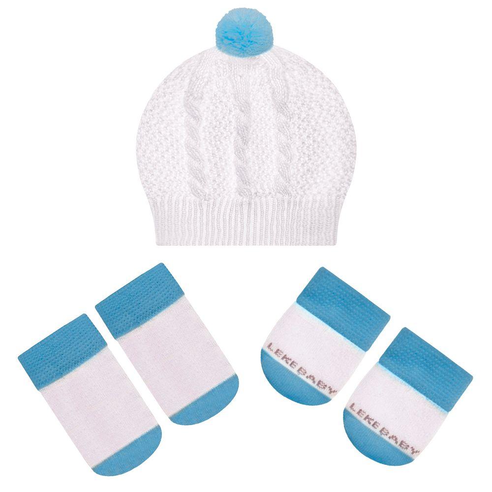 LK402.001-03-A-moda-bebe-menino-acessorios-kit-touca-luva-sapatinho-em-tricot-rosa-leke-no-bebefacil