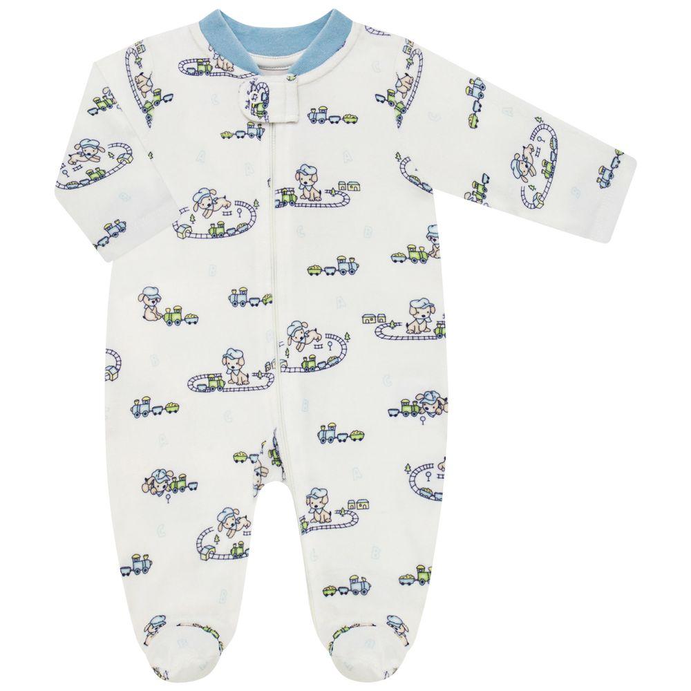 AB21632-CT-moda-bebe-menina-macacao-longo-ziper-plush-cachorrinho-no-trem-anjos-baby-no-bebefacil-loja-de-roupas-para-bebes
