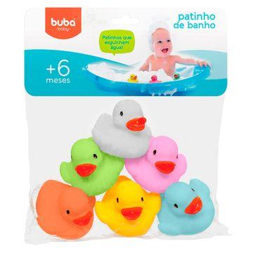BUBA09683-A-Patinho-para-Banho-6un-Colorido-6m---Buba