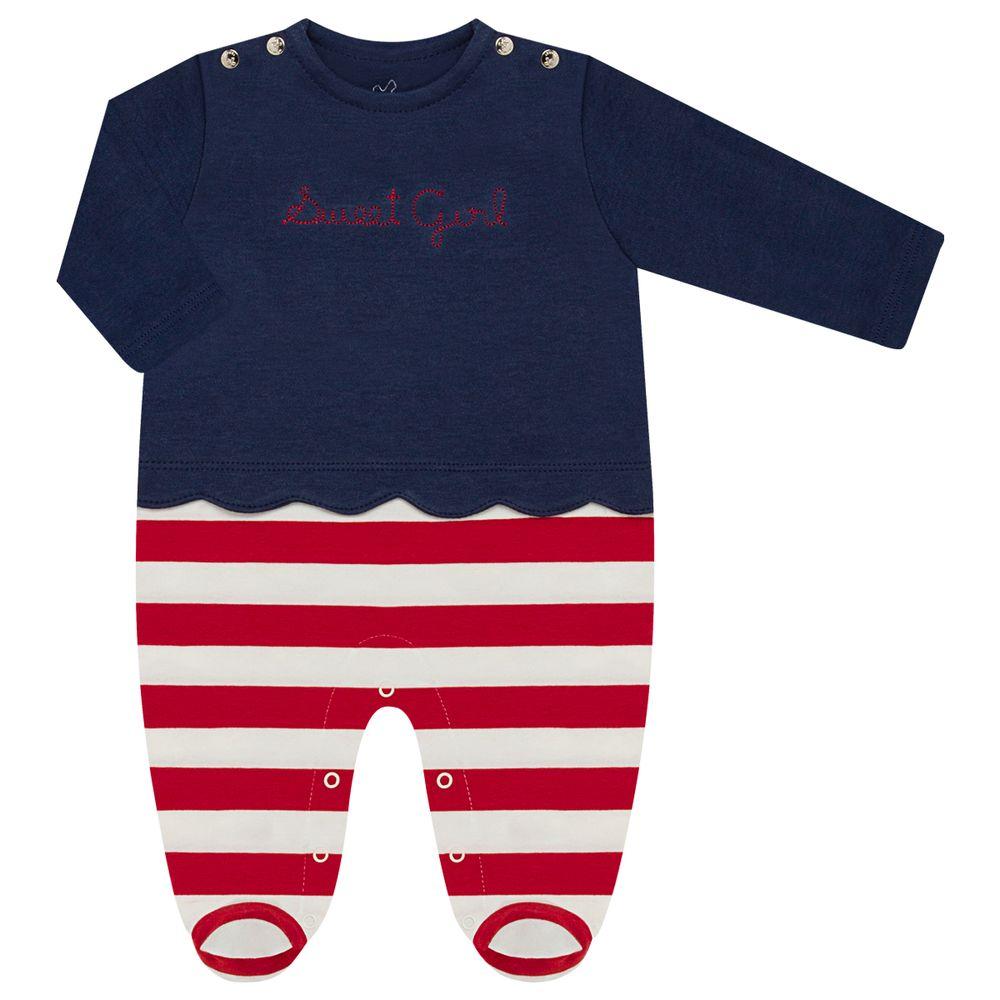 CQ21.099-05-A-moda-bebe-menina-macacao-longo-sobreposto-em-suedine-sweet-girl-coquelicot-no-bebefacil-loja-de-roupas-para-bebes