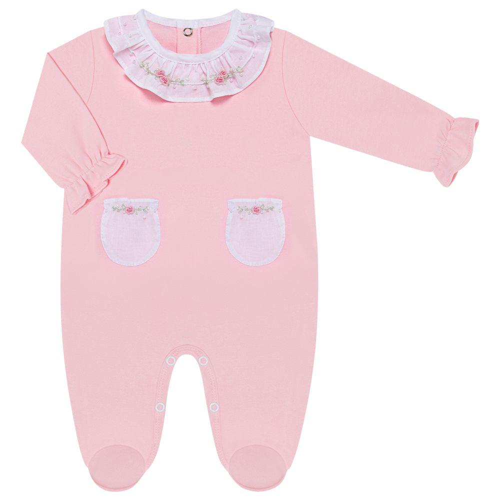 05711008046-A-moda-bebe-menina-macacao-longo-bolsinhos-algodao-egipcio-florzinhas-rosa-roana-no-bebefacil