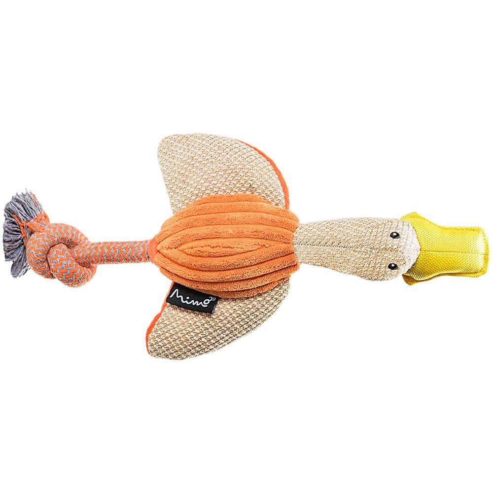 PP200-A-Brinquedo-Pet-de-Pelucia-Pato-Natural-Colors-para-Cachorros---Mimo