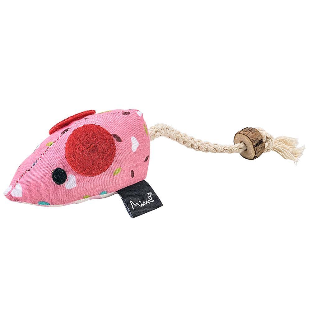 PP241-A-Brinquedo-Pet-de-Pelucia-Ratinho-Deco-Rosa-para-Gatos---Mimo