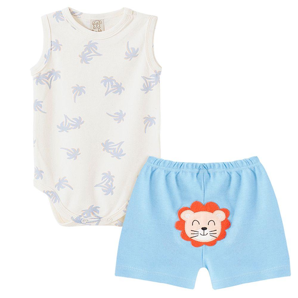 PL66814-A-moda-bebe-menino-conjunto-body-regata-shorts-suedine-coqueiro-pingo-lele-no-bebefacil
