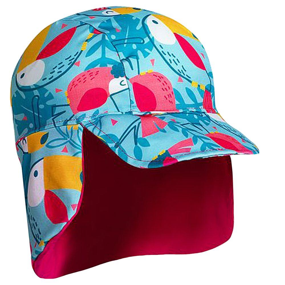 2506327-AZ-A-moda-praia-menina-bone-com-protecao-uv-fps50-tucano-colorido-tip-top-no-bebefacil