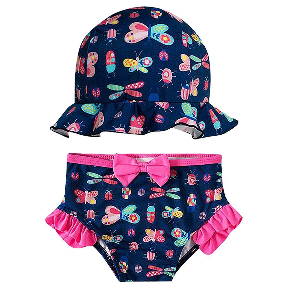 1386318-A-moda-praia-menina-conjunto-de-banho-chapeu-calcinha-bugs-tip-top-no-bebefacil