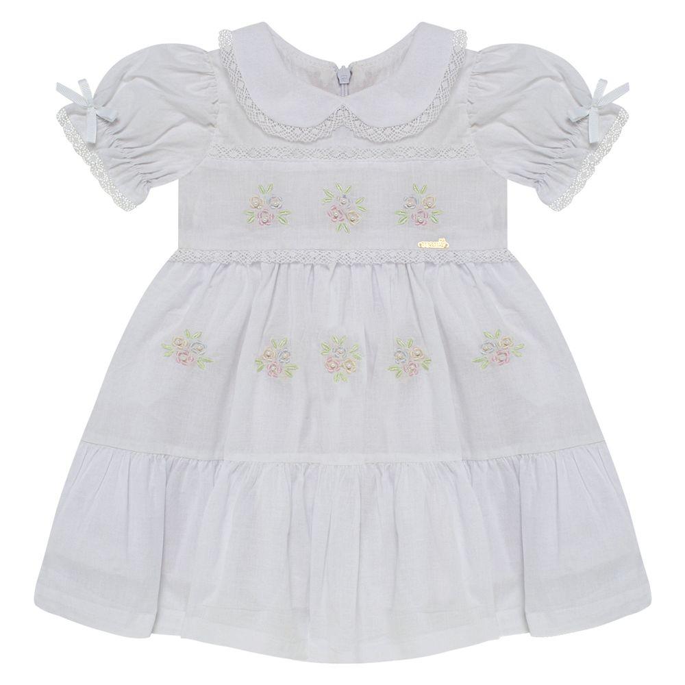 5921178C001-A-moda-bebe-menina-vestido-em-cambraia-e-renda-bouquet-branco-roana-no-bebefacil-loja-de-roupas-para-bebes