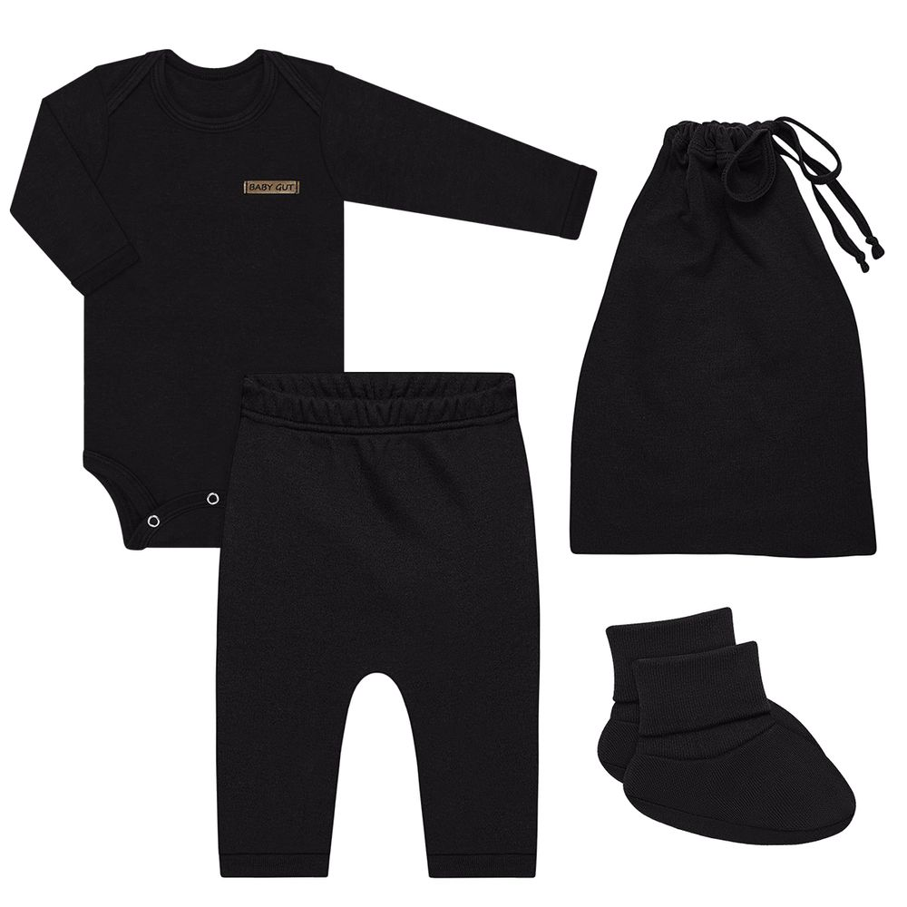 BBG1252016-A-moda-bebe-menino-kit-comfy-body-longo-calca-saruel-pantufa-saquinho-em-suedine-preto-baby-gut