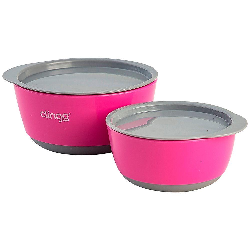C2280-A-Kit-2-Tigelas-com-Tampa-Colors-Rosa-6m---Clingo