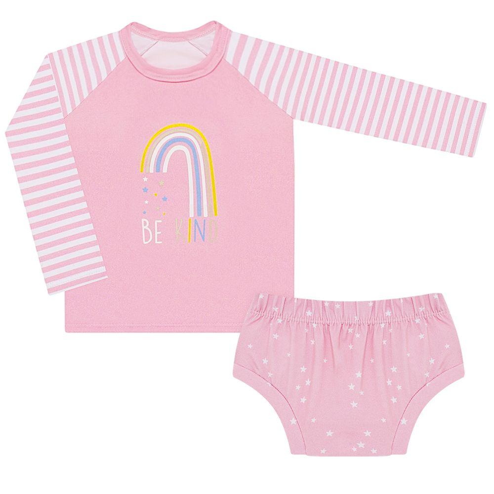 BBG0721002-A-moda-pria-bebe-menina--camiseta-surfista-calcinha-arco-iris-rosa-baby-gu-no-bebefacil-loja-de-roupas-para-bebes