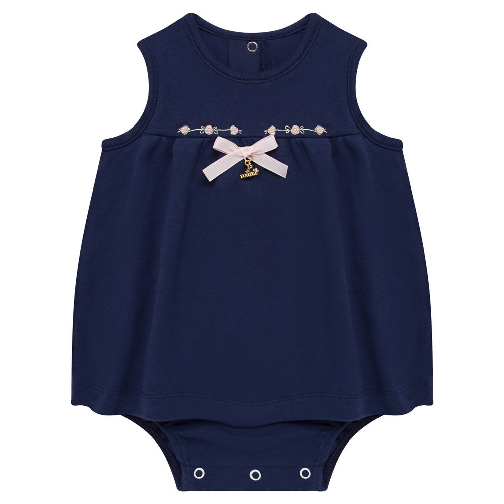 06412006008-A-moda-bebe-menina-body-vestido-pimpao-em-suedine-flores-marinho-roana-no-bebefacil-loja-de-roupas-para-bebes